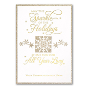 Holiday Twinkle - Gold Glitter